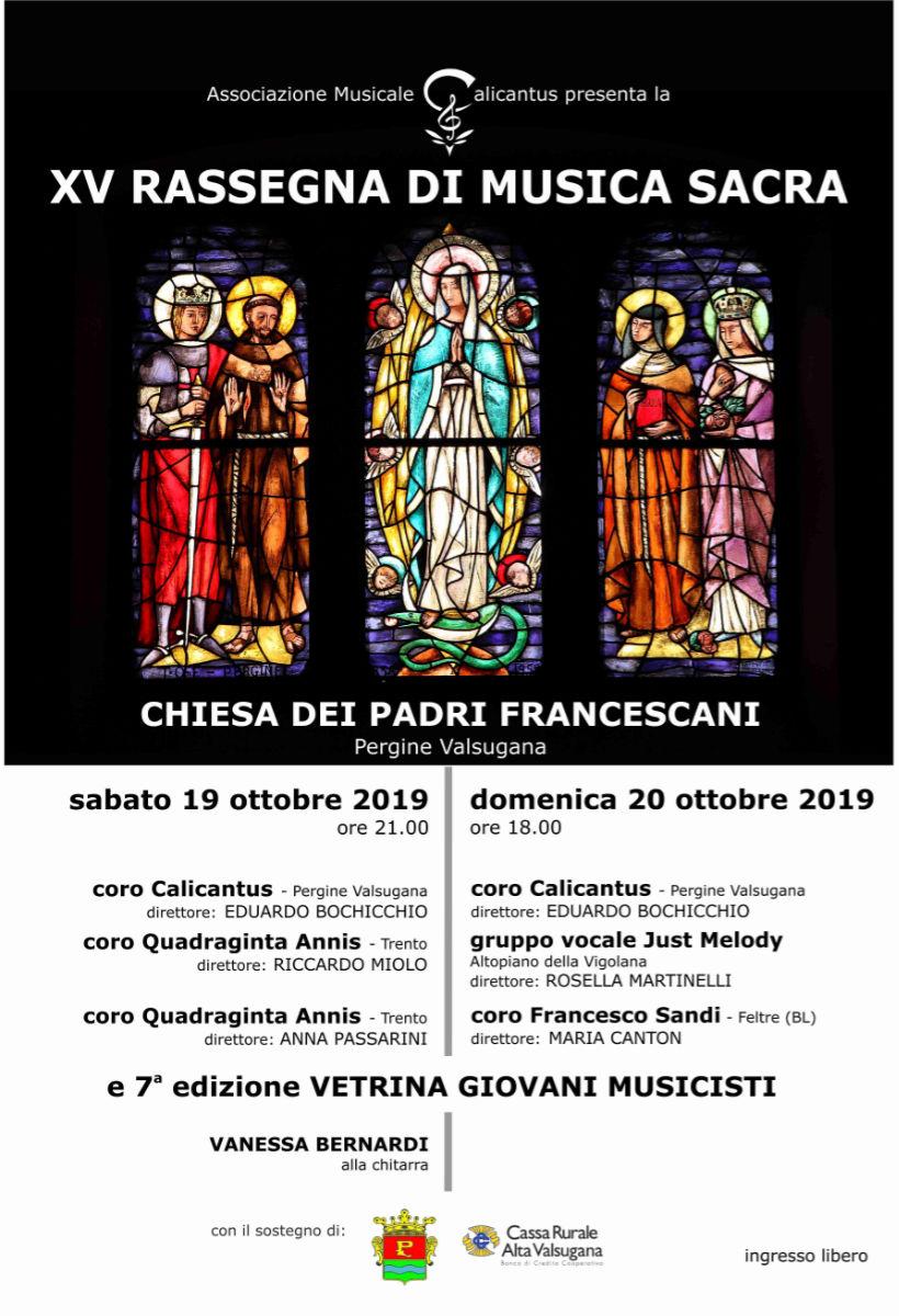 Rassegna di Musica Sacra XV edizione